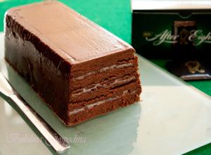 Marquise de ciocolata cu menta