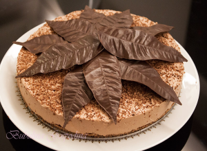 Cheesecake cu ciocolata (fara foc)
