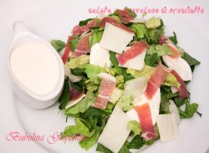 Salata cu provolone si prosciutto