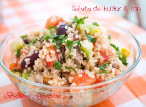 Salata de bulgur si ton